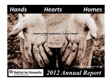 Hands Hearts Homes 2012 Annual Report - Habitat for Humanity ...