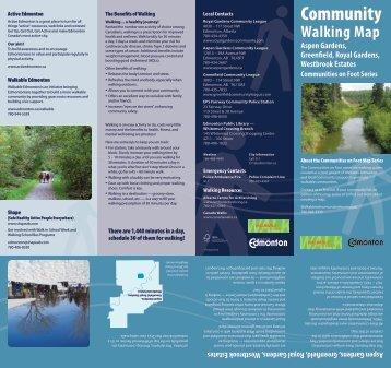 Community Walking Map for Royal Gardens - City of Edmonton