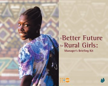 A Better Future for Rural Girls - Family Care International