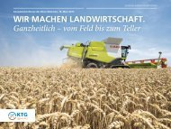 Unternehmenspräsentation - KTG Agrar AG