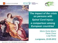 Presentation of the 2012 survey into the impact of the economic ...