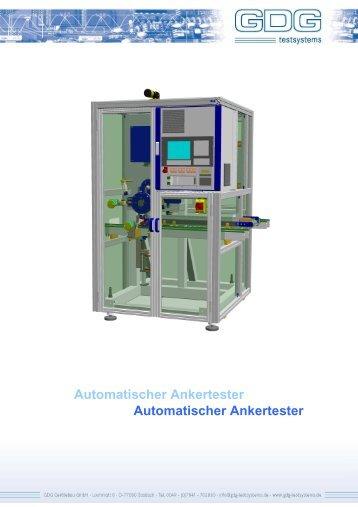 Automatischer Ankertester horizontal DE V1.0 - GDG Testsystems