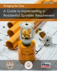 A Guide to Implementing a Residential Sprinkler Requirement