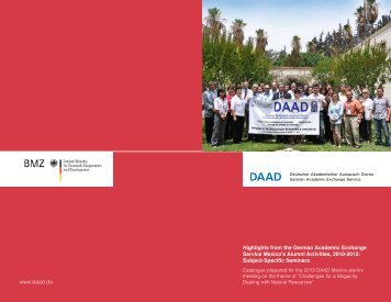 Highlights from the German Academic Exchange Service ... - DAAD