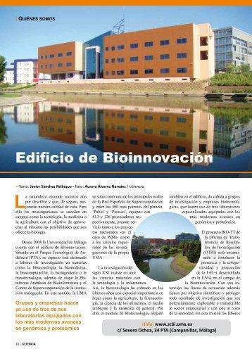 Edificio de Bioinnovación