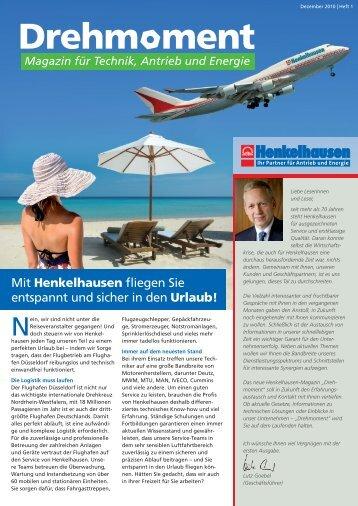 Henkelhausen Magazin Drehmoment Heft 1 - Henkelhausen GmbH ...