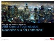 Konsequente Weiterentwicklung der Leitsysteme (PDF, 1,1 MB) - ABB