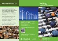 Sociology - Human, Social, and Political Science