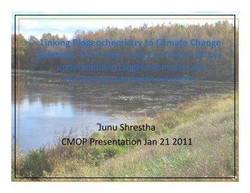 Download slides of talk - CMOP