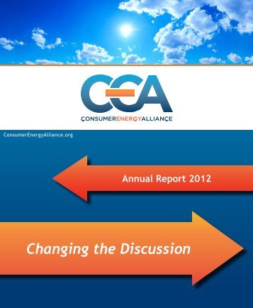 Download the CEA Annual Report 2012 here. - Consumer Energy ...