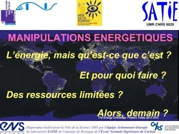 l'électricité - ENS de Cachan - Antenne de Bretagne