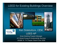 LEED for Existing Buildings Overview - Cleanairinfo.Com