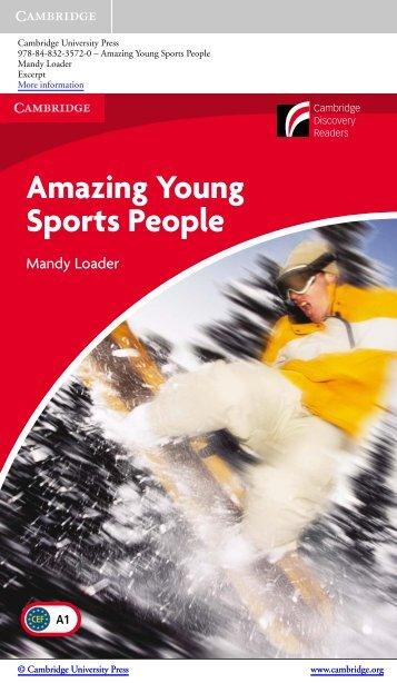Amazing Young Sports People - Cambridge University Press