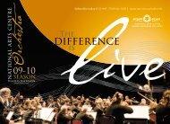 2009-2010 NAC Orchestra - National Arts Centre