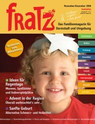 Ideen für Regentage Advent in der Region Sanfte Geburt - Fratz
