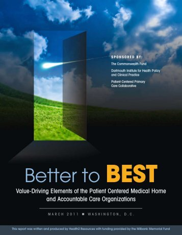 Better to BEST - Patient-Centered Primary Care Collaborative