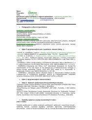 KOMRSKA - Fakulta architektúry STU