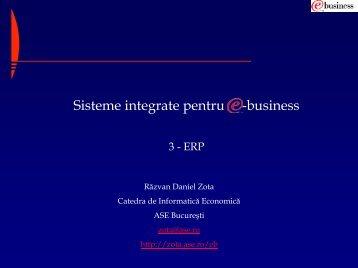Sisteme de operare pentru ERP
