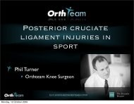 Hip Related Groin Pain - ShoulderDoc.co.uk