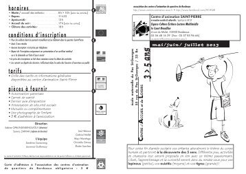 St Pierre prog 3_5 juin 2013 - Association des centres d'animation ...