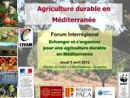 Pourquoi s'organiser collectivement - Les agricultures alternatives