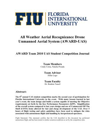 FIU - AUVSI Seafarer Chapter