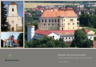 Nejlépe opravená památka Jihomoravského kraje v roce 2008