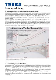 Sonderzubehör - Treba Bausysteme GmbH