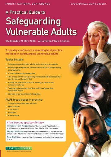 Safeguarding Vulnerable Adults - Social Perspectives Network