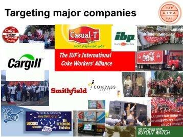 IUF transnational company work