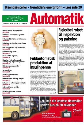 Fleksibel robot til inspektion og pakning ... - Teknik og Viden