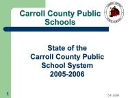 Superintendent's State of the School System Report - Slide Show