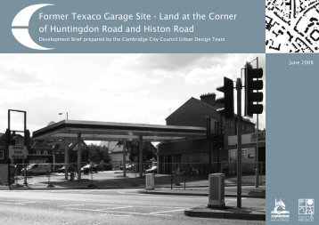 Former Texaco Garage Site - Cambridge City Council