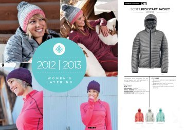 Womens Layering Catalogue