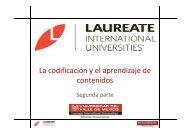 La codificación y el aprendizaje de contenidos - My Laureate