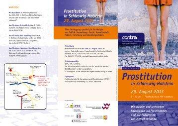 Prostitution in Schleswig-Holstein 29. August 2013 - Nordkirche