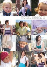 TEXTIL 2009/2010 - Mimo Natura