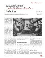 45-50 Biblioteche nella storia - Biblioteche oggi
