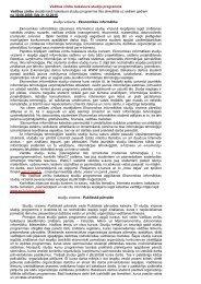 Vadības zinību bakalaura studiju programma Vadības zinību ... - EVF