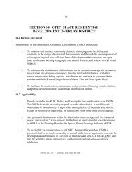 SECTION 14: OPEN SPACE RESIDENTIAL ... - Lenox