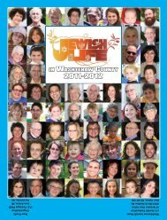 Guide to Jewish Life 2010-2011 - Washtenaw Jewish News