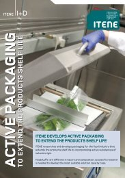 ACTIVE PACKAGING TO EXTEND THE PRODUCTS SHELF LIFE ...