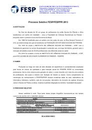 Manual do Candidato 2013 - Set - FESP