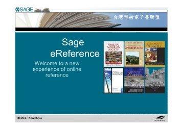 Sage eReference