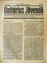 Csendes -ora. Servét Mihályelete -es halála. - Magyarországi ...