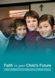 Parent Handbook for Victorian Catholic Primary Schools