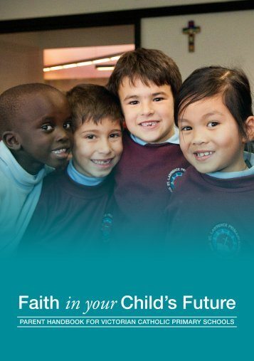 Parent Handbook for Victorian Catholic Primary Schools