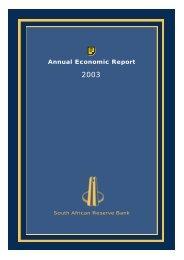 Annual Economic Report 2003