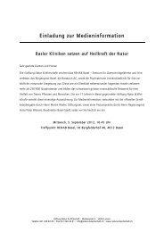 Einladung zur Medieninformation - Natur & Wirtschaft