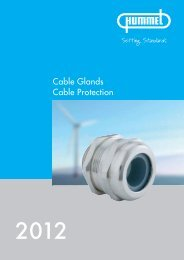 HSK-standard cable glands  - Hummel AG